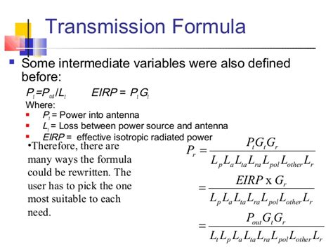 power loss in resistor formula link power budget calculation and propagation factors for satellite c