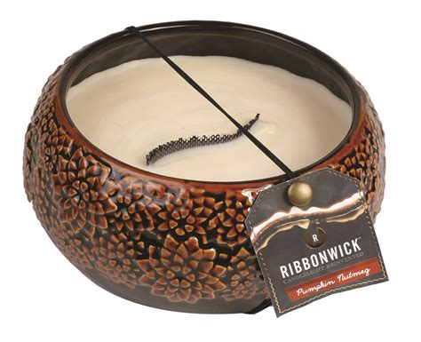 The Medium Daybreak autumn daybreak medium premium ribbonwick candle