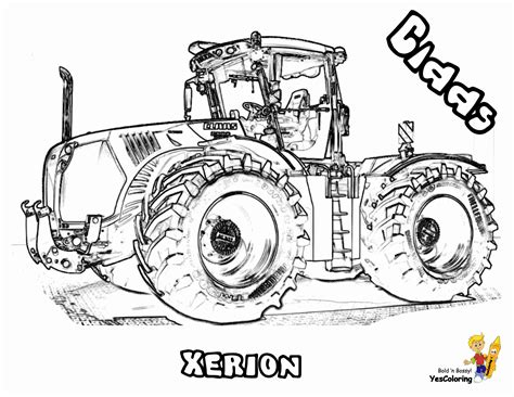 tractor coloring pages free coloring pages of fendt tractors