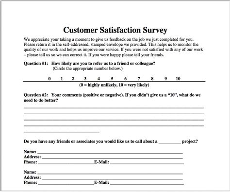 customer service survey questions template customer satisfaction survey customer satisfaction survey
