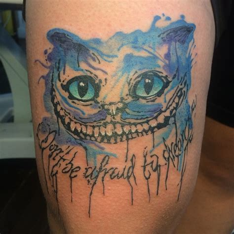 22 awesome cheshire cat tattoos collection of 25 cheshire cat