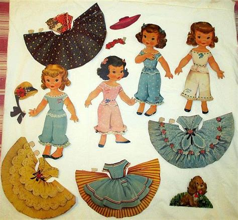 paper doll craft ideas what to do with 1950 s paper dolls hometalk