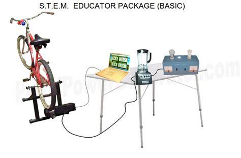 educator stem packages pedal power generators