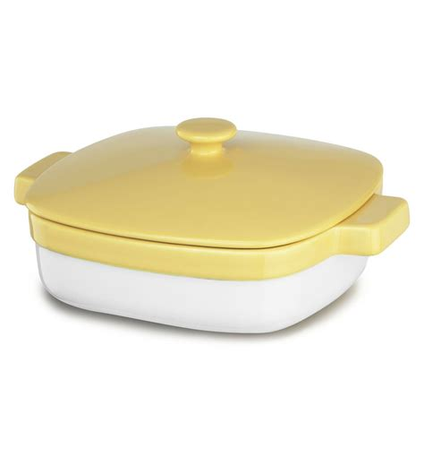 kitchenaid ceramic 1 9 quart casserole dish with lid