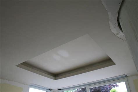 Plafond Lumiere Indirecte by Pl 226 Trerie De La Mossig Confection D Un Plafond D 233 Coratif