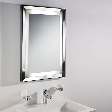 bathroom vanity mirrors brushed nickel style brushed nickel bathroom mirror doherty house