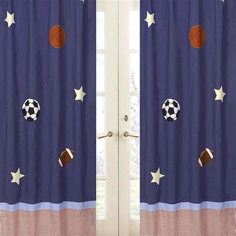 Sports Curtains Furniture Ideas Deltaangelgroup