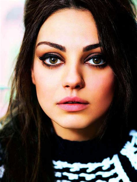 how to makeup eyes for women 70 mila kunis robert erdmann photoshoot for glamour photos