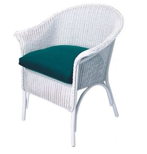 Wicker Dining Chair Cushions Lloyd Flanders Dining Chair Cushion