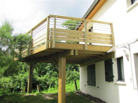 Terrasse Suspendue En Bois 3944 by Terrasse Suspendue En Bois Id 233 Es Maison