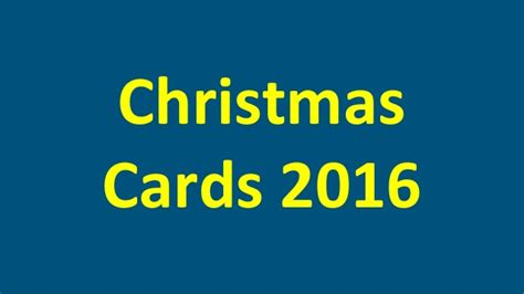 1 For All Gift Card - christmas cards 2016 for all to wish merry christmas