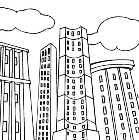 apartment building coloring page free coloring pages of apartment building
