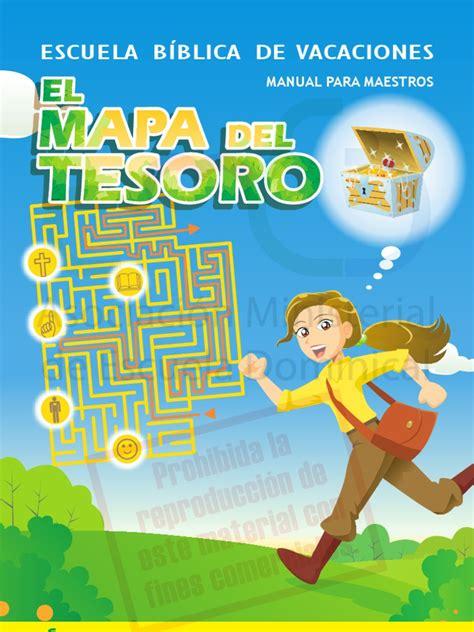 ensenanzas biblicas para la escuela de verano escolares maestros ebdv el mapa del tesoro