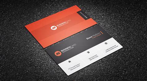black orange business card template free advance metro style business card template