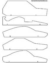 pinewood derby car template how to make a pinewood derby racing car 9 steps with