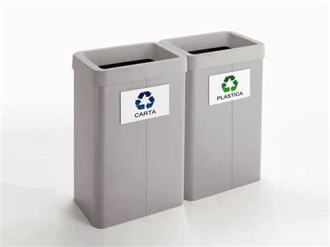 cestini raccolta differenziata ufficio cestini per raccolta differenziata per negozi e uffici
