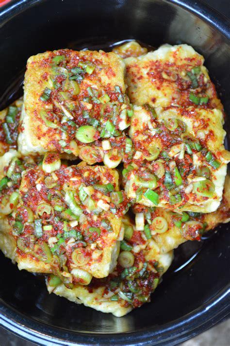 korean dishes tofu jobim korean style braised tofu recipe