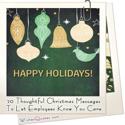 christmas messages   employees   care wishesquotes