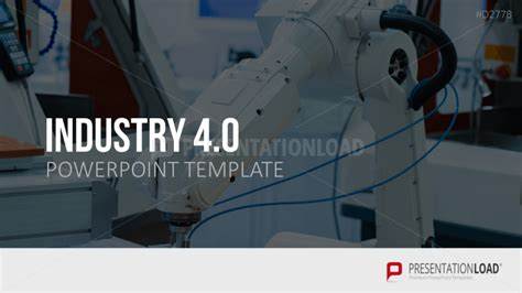 Industry 4 0 Ppt Pinterest Industrial Revolution And Modern Graphic Design Industrial Revolution Powerpoint Template
