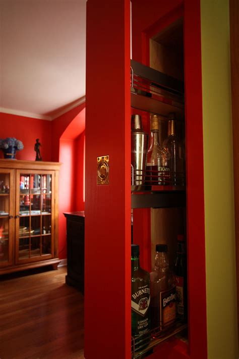 5 Secret Built In Liquor & Wine Cabinets   Hammer & Hand