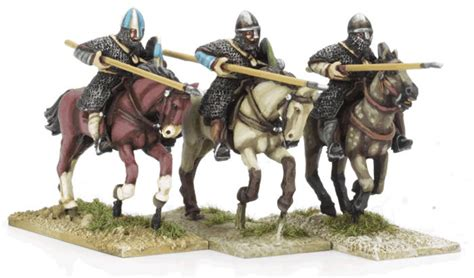 Cu4 Knights Lance Couched Charging Perry Miniatures