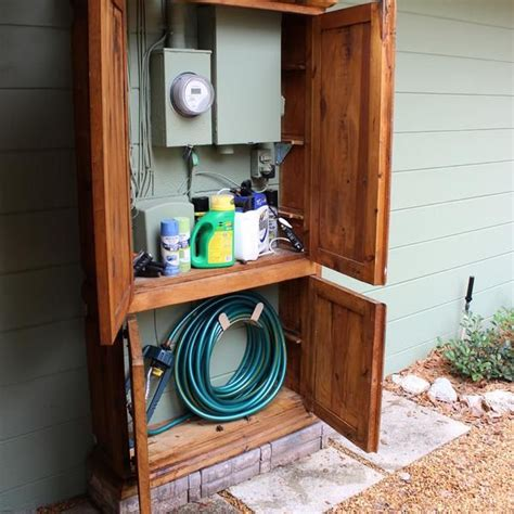Garden Hose Storage Ideas 17 Best Ideas About Hose Storage On Pinterest Water Hose Holder Garden Hose Storage And Hose