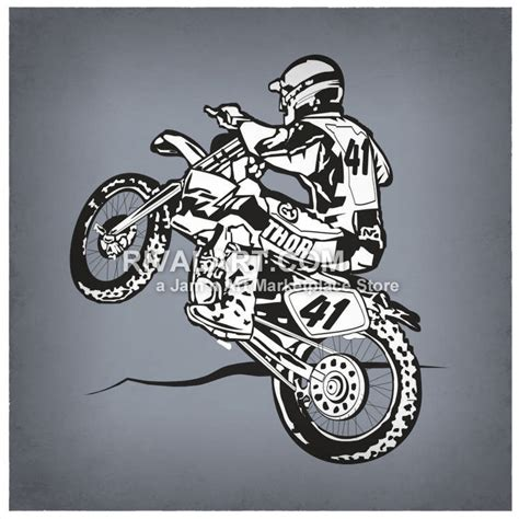 black motocross bike black white motocross motox dirt bike race graphic supercross