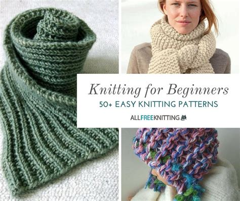 knitting for beginners knitting for beginners 50 easy knitting patterns