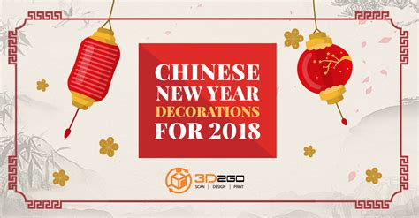 new year 2018 where to go 3d printed new year decorations for 2018