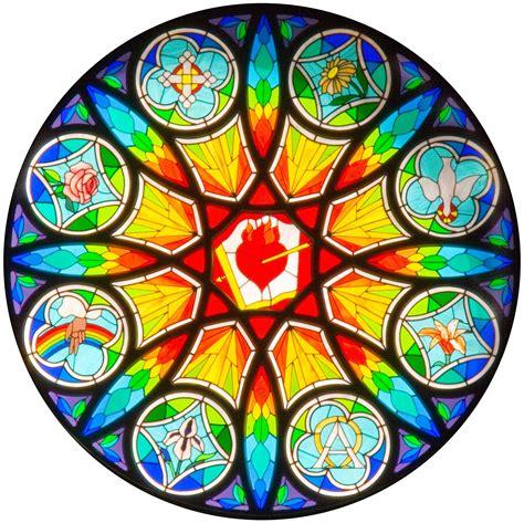 pattern energy st joseph st joseph church rose window st augustine parish
