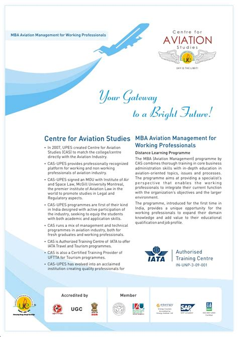 Mba In Airline And Airport Management In Canada by Mba Aviation Management