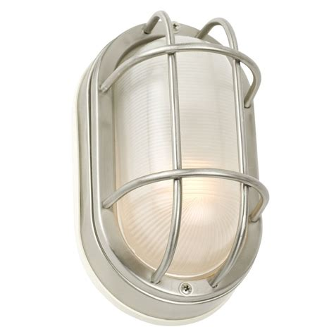 Marine Lighting Fixtures 8 Inch Oval Bulkhead Light 39856 Ss Destination Lighting