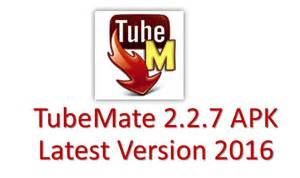 Tubemate 2 2 7 apk youtube video downloader latest version 2016 free