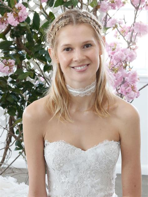 Wedding Hairstyles Part Up Part by Wedding Hairstyle Ideas Wrap Half Up Braids A