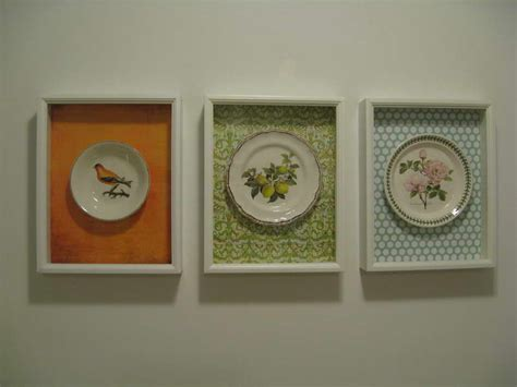diy kitchen wall decor ideas walls homemade wall art with decorative plates homemade