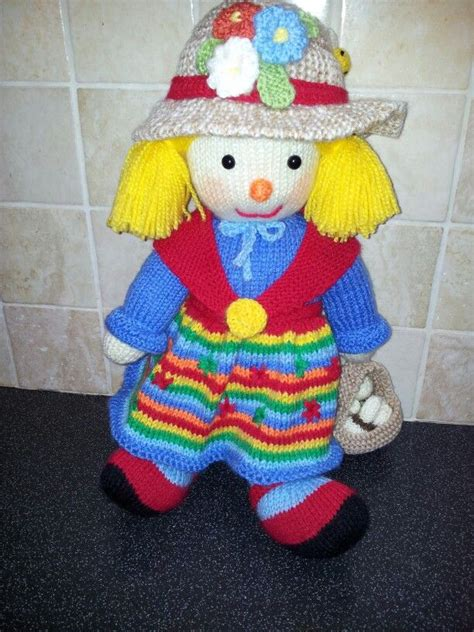 aunt sally by jean greenhowe knitted toys pinterest