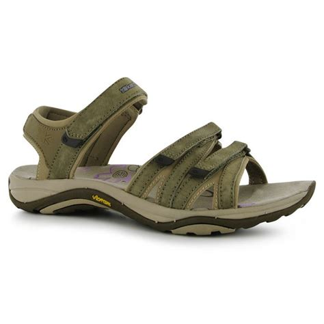outdoor sandals c karrimor womens strappy leather ladies outdoor sandals