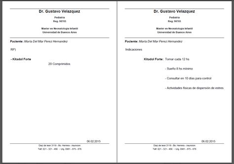 imagenes formulas medicas imprimir receta medica de un sistema foros del web