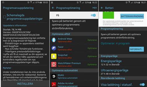 Samsung S6 Update new galaxy s6 update g920fxxu3coi9 brings battery fix and