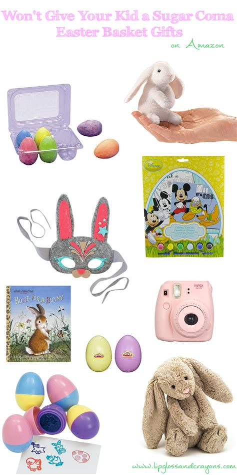 easter gifts 2017 13 non candy easter basket gifts ideas lipgloss and crayons