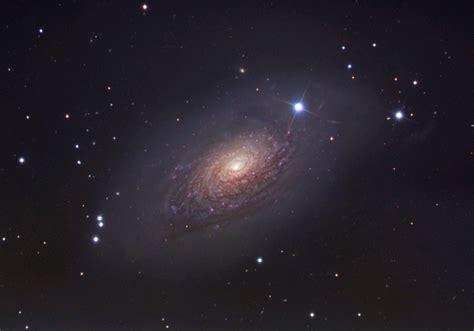 sunflower galaxy digital photograph of m63 the sunflower galaxy