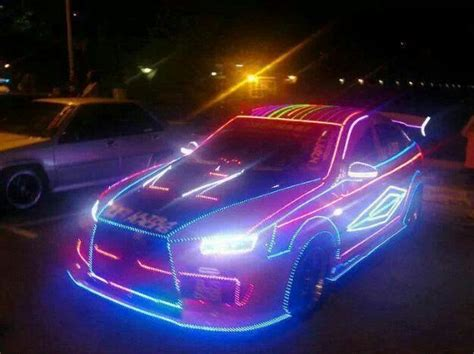 Light Up Cars glowing cars glowing