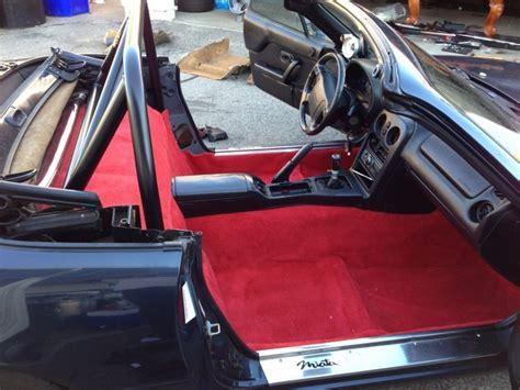 Na Miata Interior by Na Miata Black Interior Carpet By Eliteskill Mazda