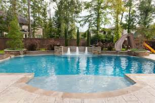 Backyard Ideas With Pools - pools and spas cypress custom pools