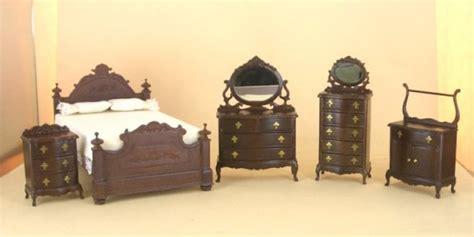 Miniature Dollhouse Bedroom Furniture Bespaq Bedroom Furniture From Fingertip Fantasies Dollhouse Miniatures