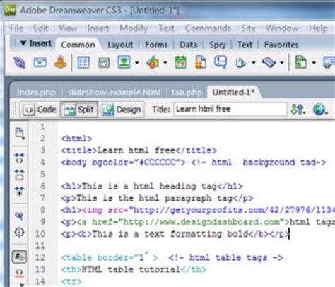 sle of html code basic html code create your sales letter web page