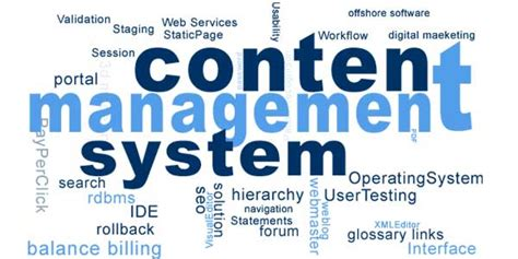 best cms systems best easy to use content management systems cms for