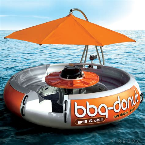 Donut Boat bbq donut boat firebox shop for the