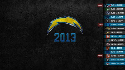 2013 san diego chargers schedule sd chargers wallpaper 1920x1080 wallpapersafari