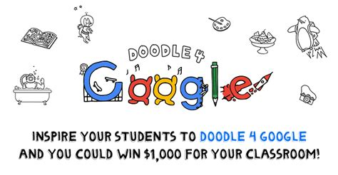 doodle for contest information teachers can win big this year with doodle 4